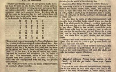 1828 Endless Amusement – Magic, Fireworks, Experiments