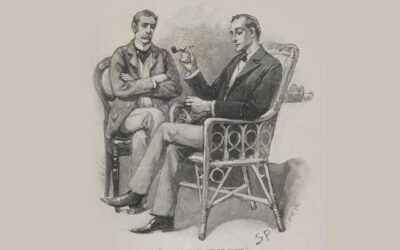 "1893 ""The Strand Magazine"", Sherlock Holmes Series (Sold for $170)"