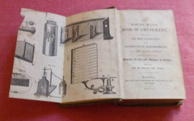 1846 The Young Man's Book of Amusement 1st Edition