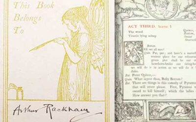 "1895 ""A Midsummer Night's Dream"", Arthur Rackham's Personal Copy"
