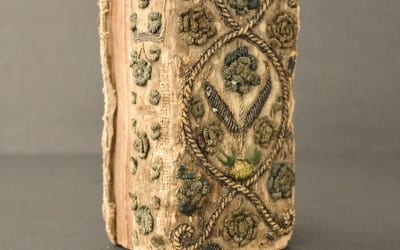 1630 Embroidered Dos-A-Dos Binding, Book of Psalms