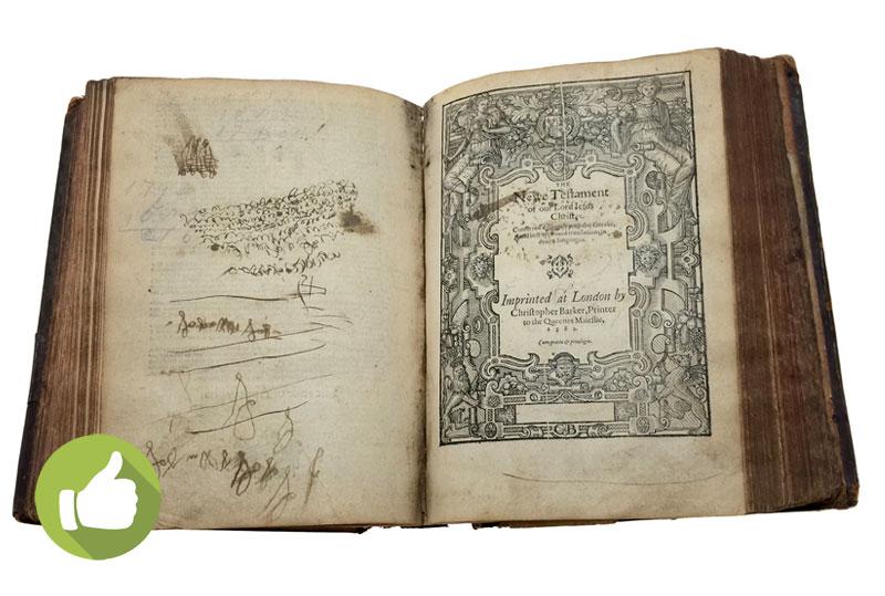 18th Century Antique Bible
