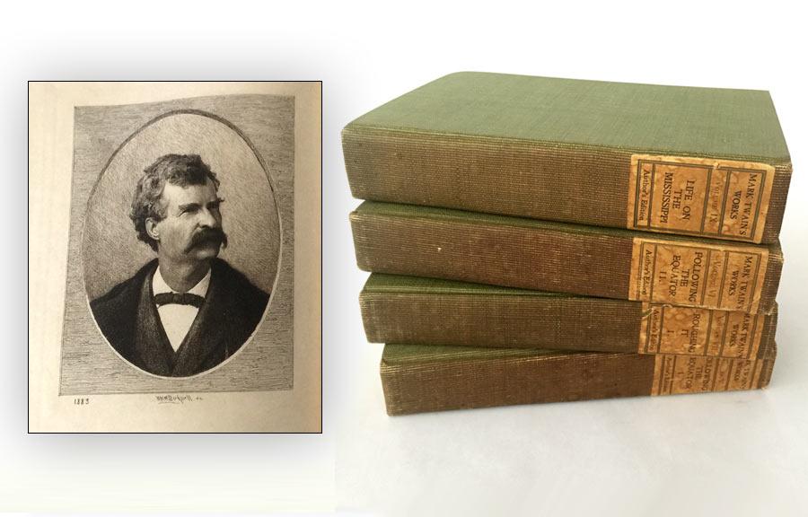 Mark Twain Books, Edition De Luxe