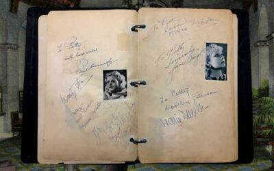 1930's Golden Age Hollywood Movie Star Autograph Book Sold for $2,499