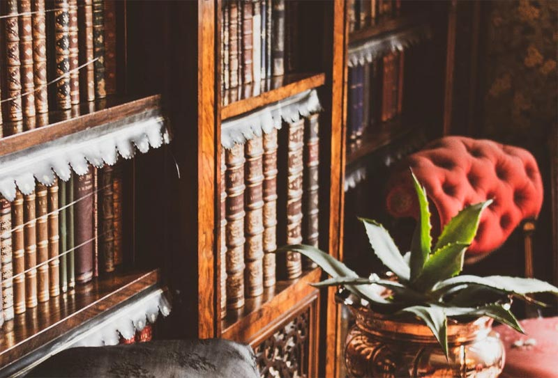 How to sell an antique book collection