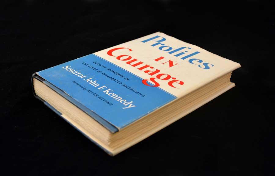 JFK Inscribed Book